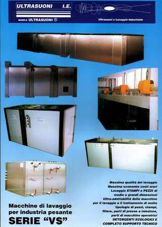Grandi lavatrici ultrasuoni per meccanica