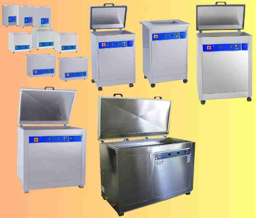 Pulitori ultrasuoni per sgrassatura metalli