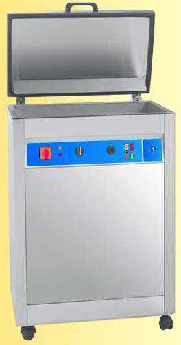 Lavatrice ultrasuoni di superfici in ottone e acciaio